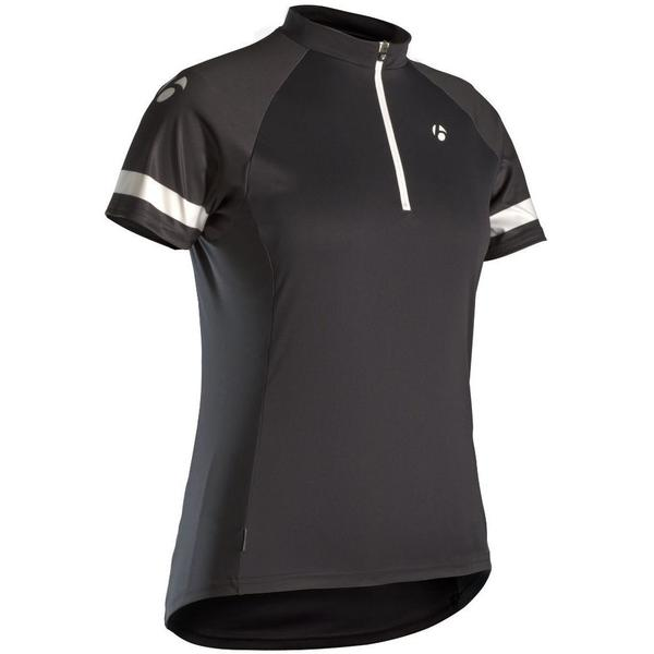 Bontrager Solstice WSD Short Sleeve Jersey - Women's Color: Black
