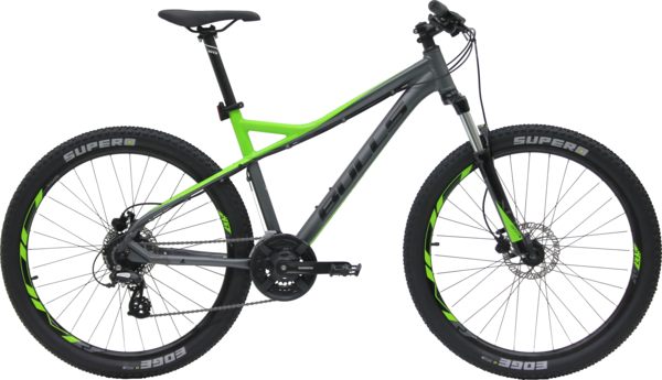 Bulls Sharptail 2 Disc 27.5 Color: Grey/Green