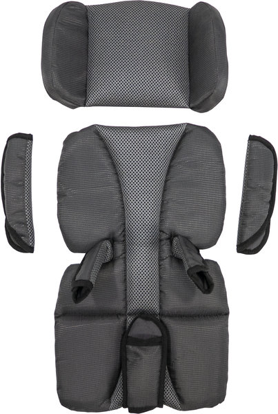 Burley Premium Seat Pads Color: Black/Grey