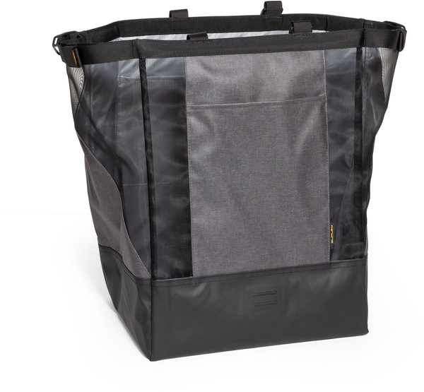 Burley Lower Market Bag Color: Black/Grey