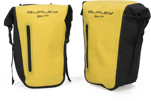 Burley Pannier Set Color: Yellow