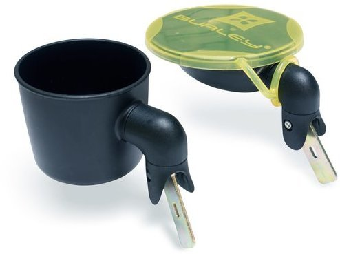 Burley Solstice Snack Bowl and Cup Holder
