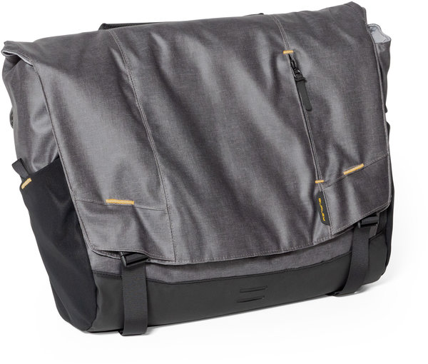 Burley Transit Messenger Bag Color: Black/Grey