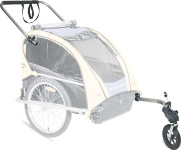 Burley Walk 'n Roller Kit (for 2003-and-earlier Solo trailers)