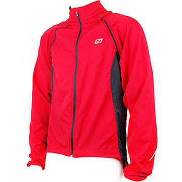 Bellwether Convertible Jacket Color: Ferrari
