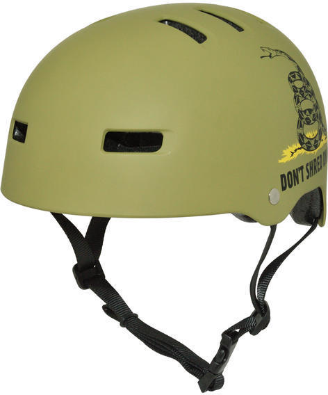 C-Preme Krash Dont Shred on Me Helmet Color: Green