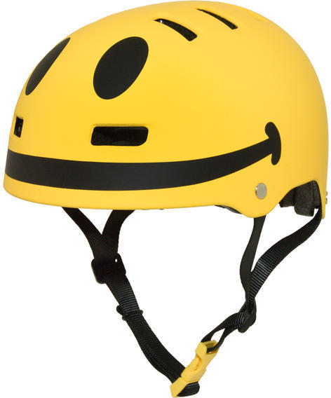 C-Preme Krash Smiley Helmet Color: Yellow