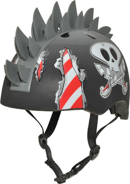 C-Preme Raskullz Fin Hawk Helmet Color: Grey