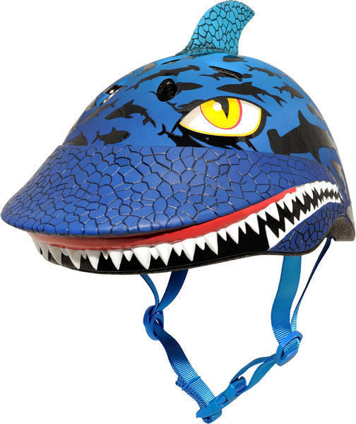 C-Preme Raskullz Shark Jaws Helmet Color: Blue