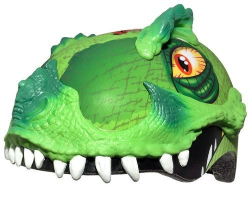 C-Preme Raskullz T-Rex Awesome Helmet Color: Green