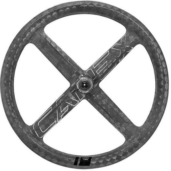 CADEX 4-Spoke Aero Tubular Front Color: Black