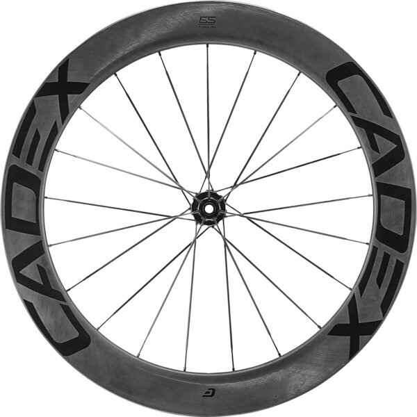 CADEX 65 Disc Tubular Front Color: Black