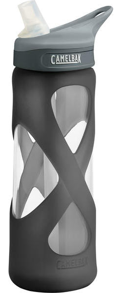 CamelBak .75L Eddy Glass Bottle Color: Charcoal