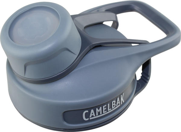 CamelBak Chute Cap Color: Grey/Grey, Grey Tether