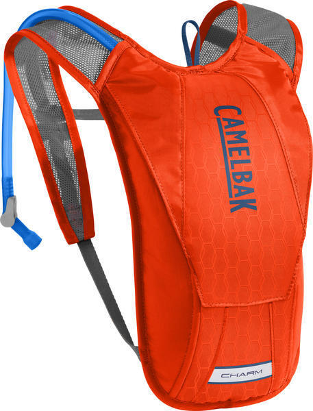 CamelBak Charm Color: Cherry Tomato/Pitch Blue