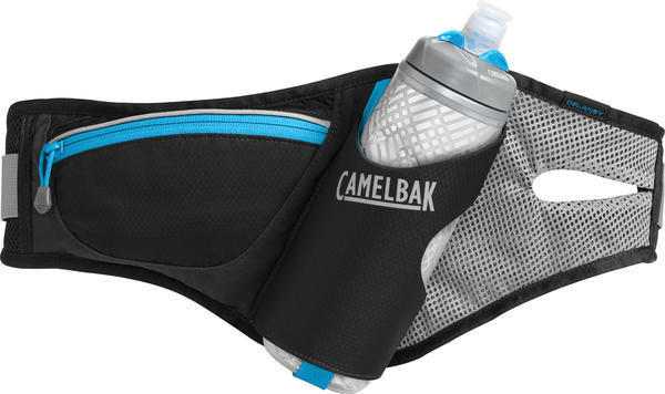 CamelBak Delaney Belt Color: Black/Atomic Blue