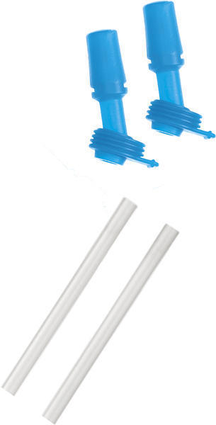 CamelBak eddy Replacement Bite Valves and Straws Color: Ice Blue