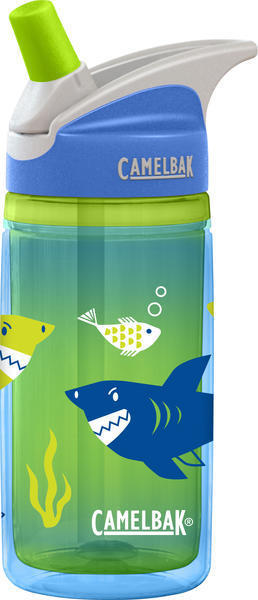CamelBak eddy Kids Insulated .4L Color: Blue Sharks