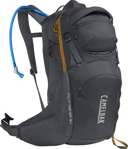 CamelBak Fourteener 24 Color: Charcoal/Rust Orange