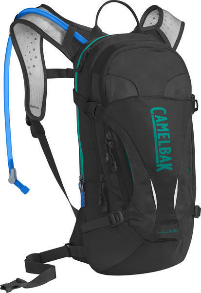 CamelBak L.U.X.E. Color: Black/Columbia Jade