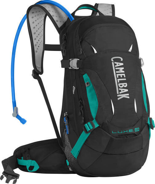 CamelBak L.U.X.E. LR 14 Color: Black/Columbia Jade