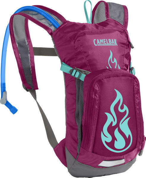 CamelBak Mini M.U.L.E. Color: Baton Rouge/ Flames