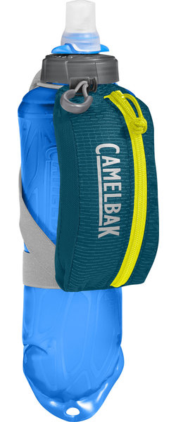 CamelBak Nano Handheld 17oz Color: Corsair Teal/Sulphur Spring