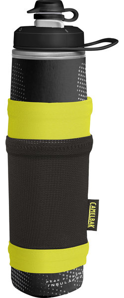 CamelBak Peak Fitness Chill 25oz Essentials Pocket Color: Black/Lime