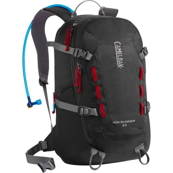 CamelBak Rim Runner 22 Color: Charcoal/Chili Pepper