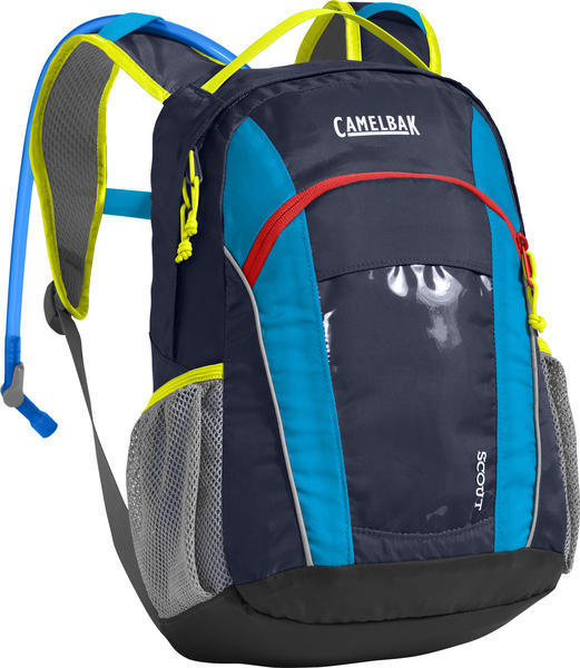 CamelBak Scout Color: Navy Blazer/ Atomic Blue