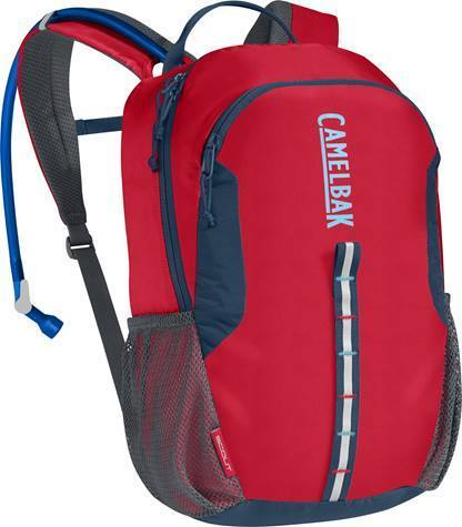 CamelBak Scout Color: Crimson Red/Blue