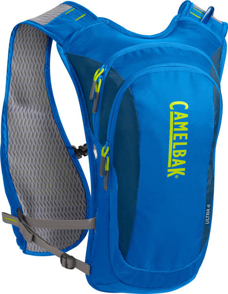 CamelBak Ultra 4 Run Vest Color: Electric Blue/Poseidon