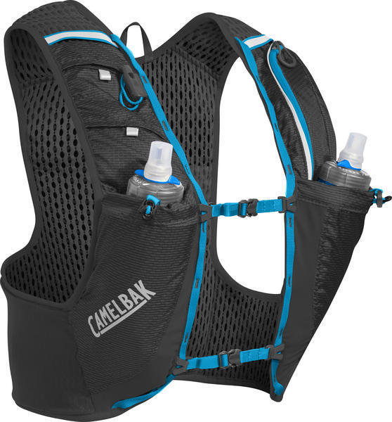 CamelBak Ultra Pro Vest Color: Black/Atomic Blue