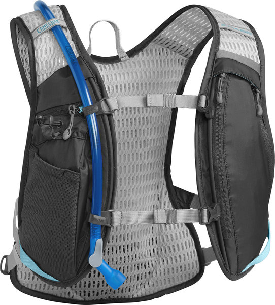 CamelBak Women's Chase Bike Vest 50oz Color: Charcoal/Lake Blue
