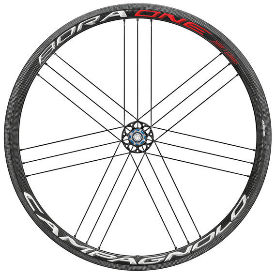 Campagnolo Bora One 35 Clincher Rear Wheel Image differs from actual product (Campagnolo cassette compatibility shown)
