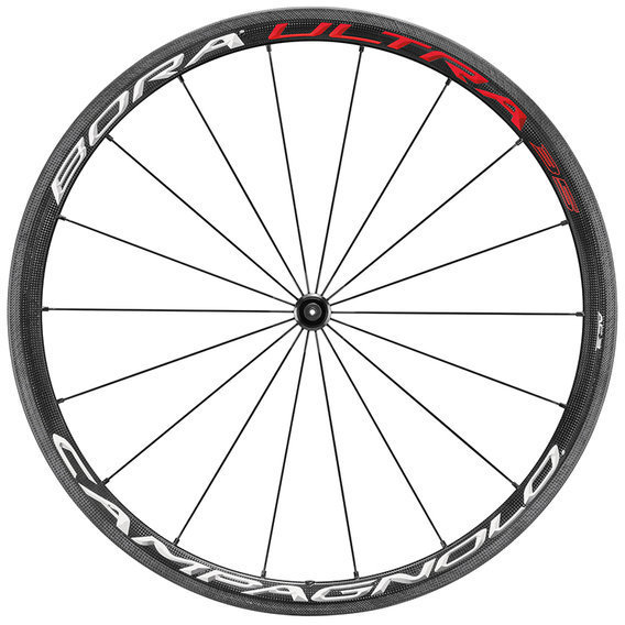 Campagnolo Bora Ultra 35 Clincher Front Wheel Color: Bright Label