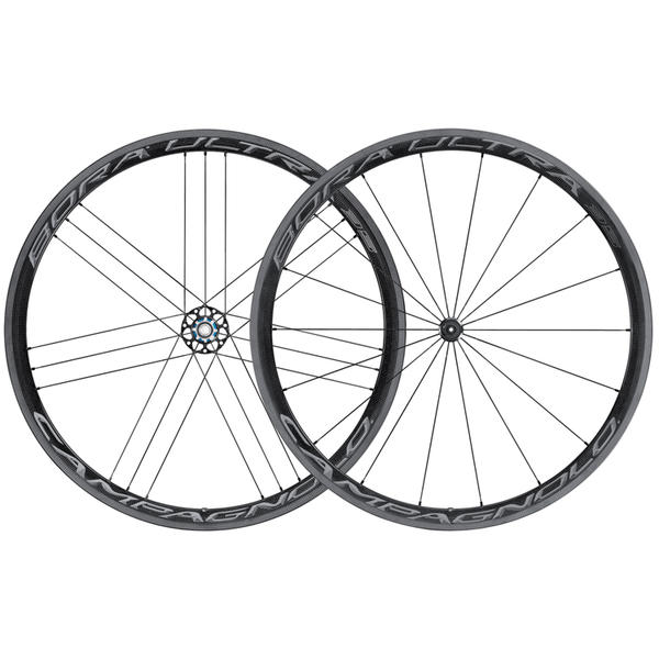 Campagnolo Bora Ultra 35 Tubular Wheelset Color: Dark Label