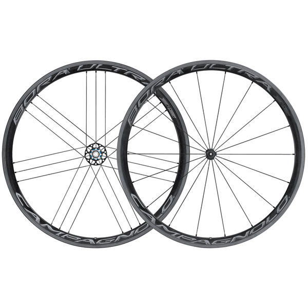 Campagnolo Bora Ultra 35 Clincher Wheelset Color: Dark Label