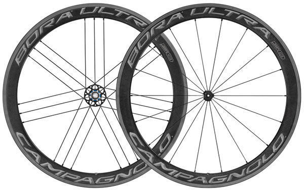 Campagnolo Bora Ultra 50 Clincher Wheelset Color: Dark Label