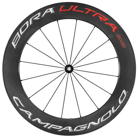 Campagnolo Bora Ultra 80 Tubular Front Wheel Color: Bright Label