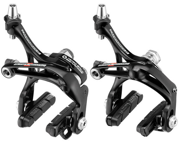 Campagnolo Super Record-D Skeleton Brakeset Color: Black