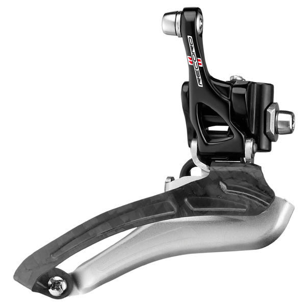 Campagnolo Record Braze-On Front Derailleur Color: Black