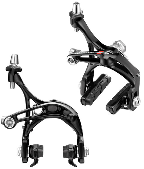 Campagnolo Record-D Skeleton Brakeset Color: Black