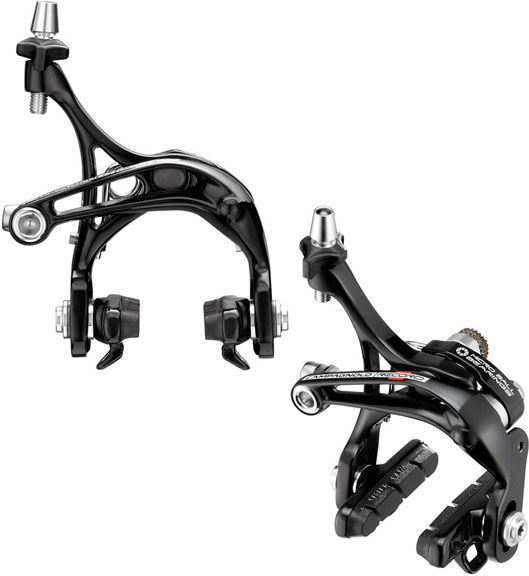 Campagnolo Record Skeleton Brakeset Color: Black