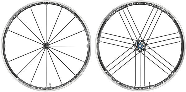 Campagnolo Shamal Ultra 2-Way Fit Tubeless Wheelset Campagnolo cassette compatibility shown