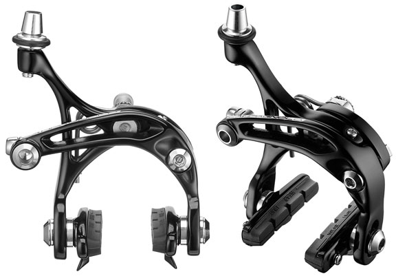 Campagnolo Athena Skeleton Brakeset Color: Black