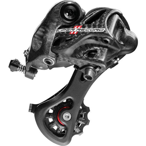 Campagnolo Super Record 11 Medium Cage Rear Derailleur Color: Carbon