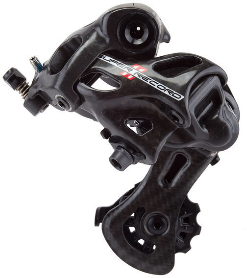 Campagnolo Super Record 11 Short Cage Rear Derailleur Color: Carbon