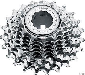 Campagnolo Veloce 9-Speed Cassette Color: Silver