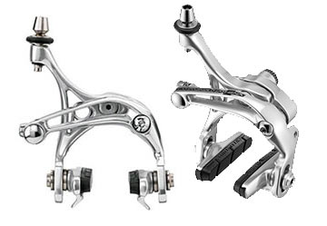 Campagnolo Athena Skeleton Brake Calipers (Front and Rear: Dual-Pivot)